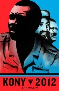 The Official Kony2012 poster - click here to download their press kit
